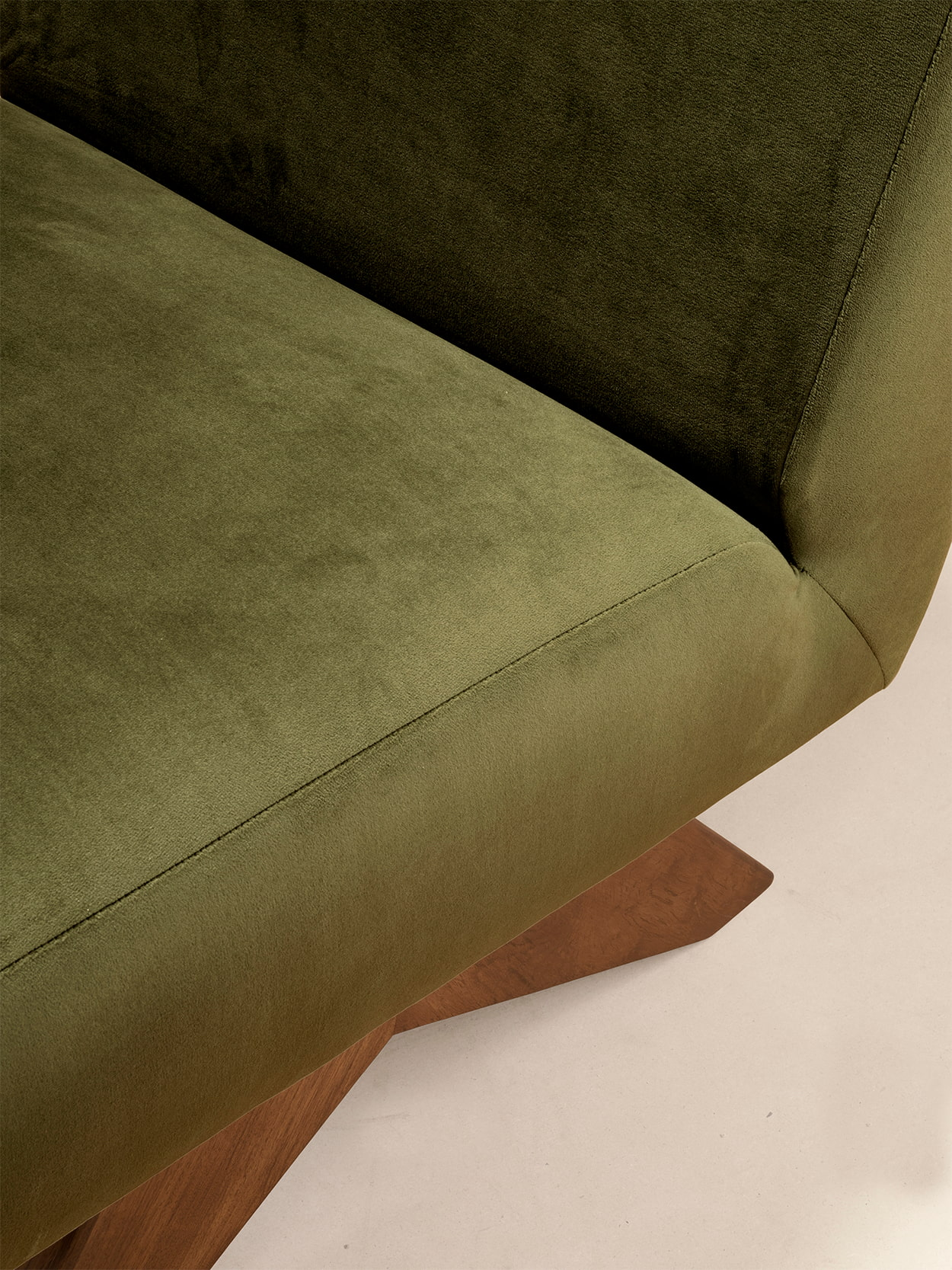 Upholstered Armless Chair 4